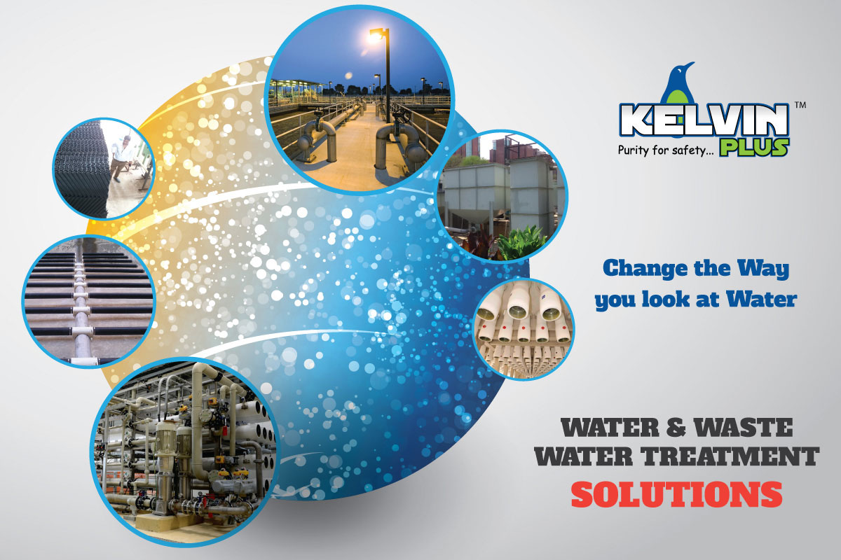 hoarding design for water treatment company