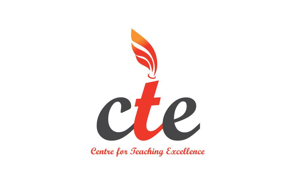 logo design for CTE - Centre for Teaching Excellence