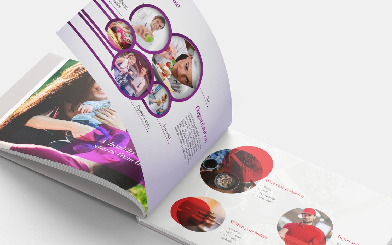 brochure design for healthcare company