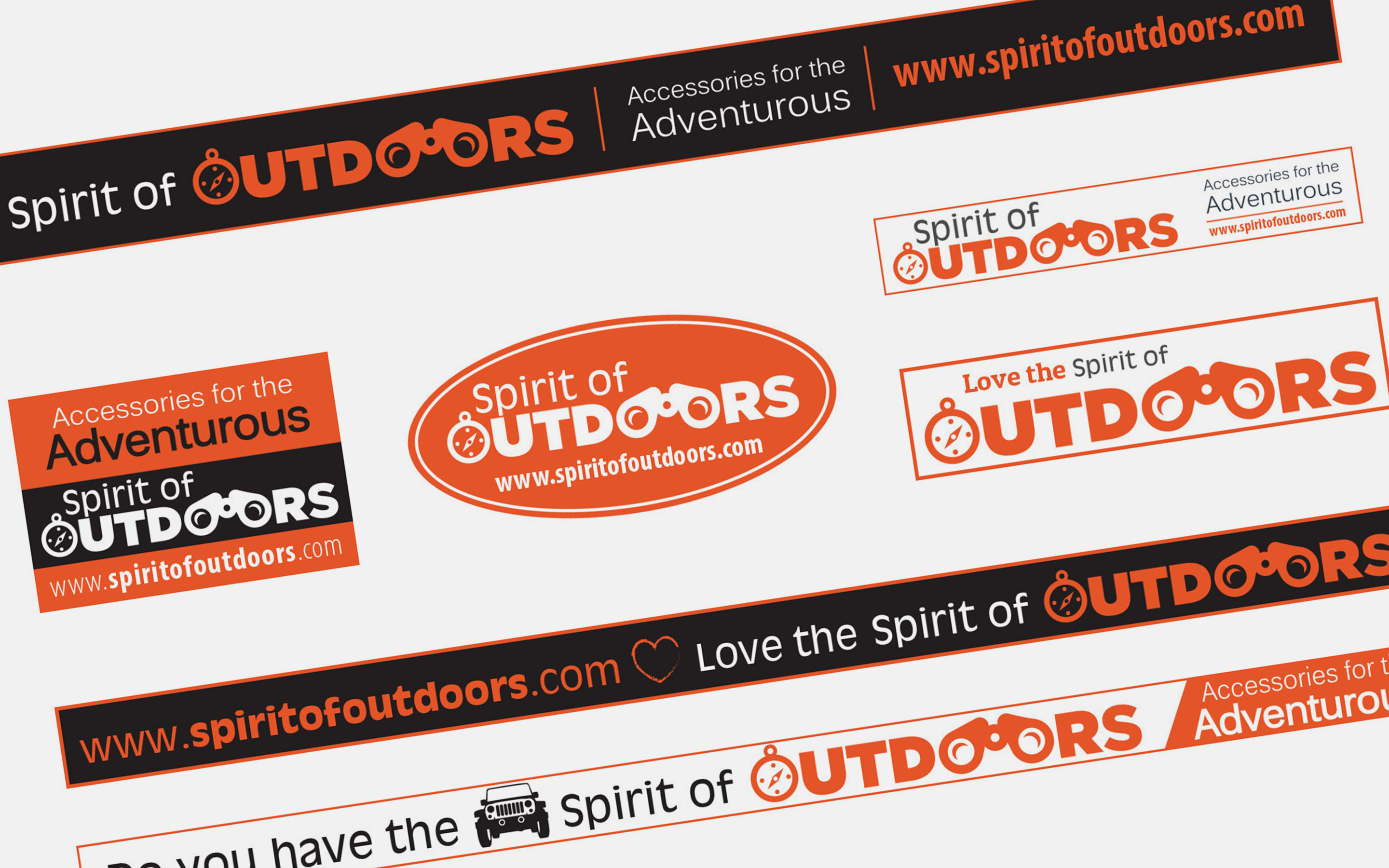 vehicle sticker designs for spirit of outdoors